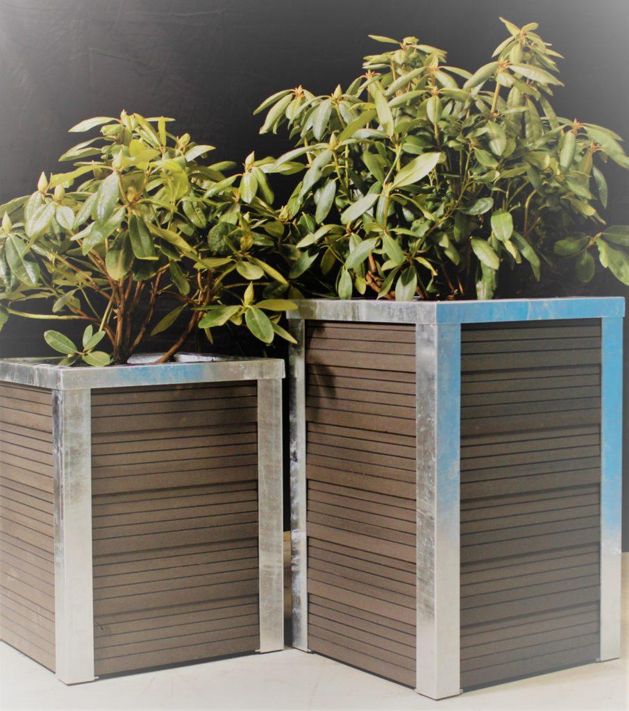 Blomsterkasse i flot dansk design fra GH system