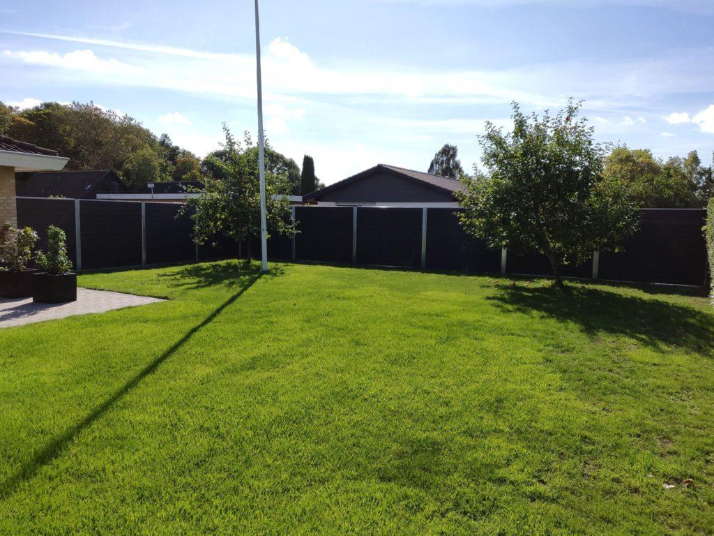 Dejlig ro i haven, det er resultatet af GH system hegn